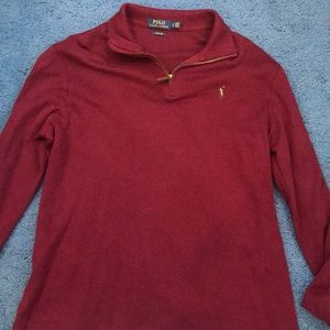 Polo Ralph Lauren Estate Rib Line Quarter Zip